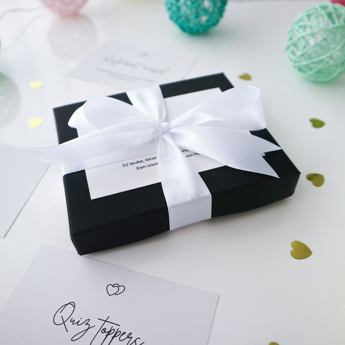Date ideeën box gepersonaliseerd cadeau