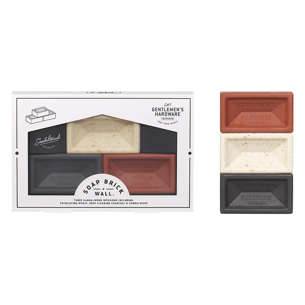 Mini Brick Soap - set van 3