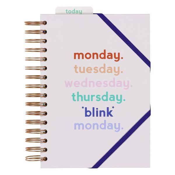 Monday Blink Planner