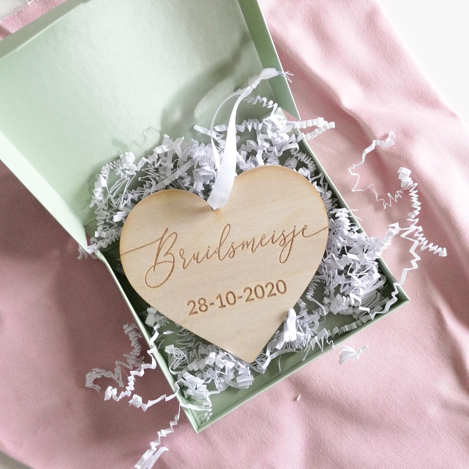 Bruidsmeisje Hanger - Datum