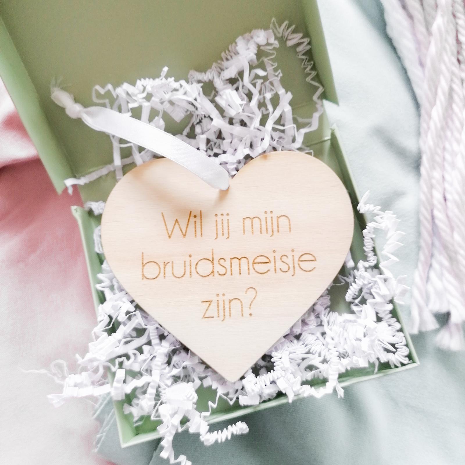 Bruidsmeisje Hanger - Gepersonaliseerd Met Naam