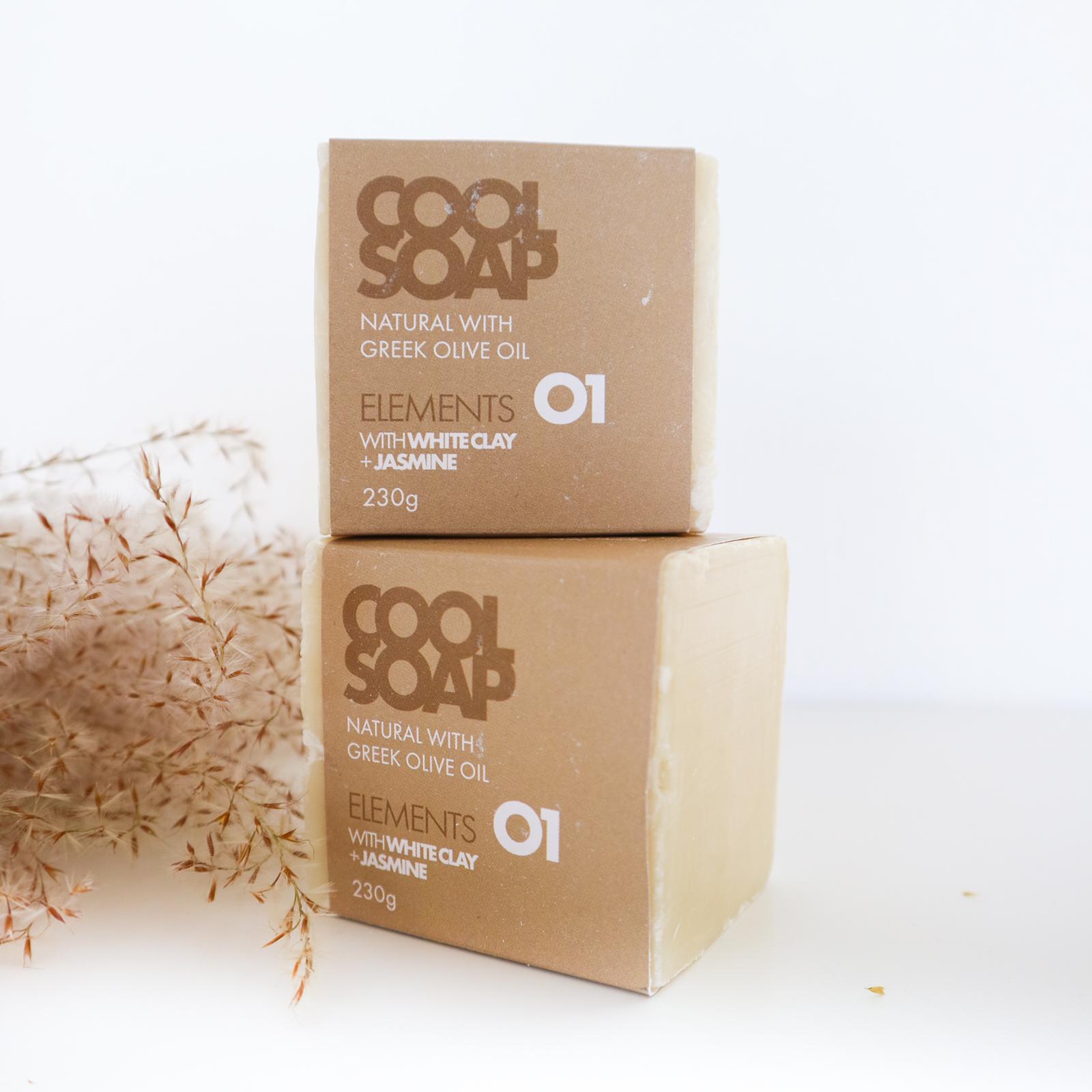 Cool Soap - White Vegan