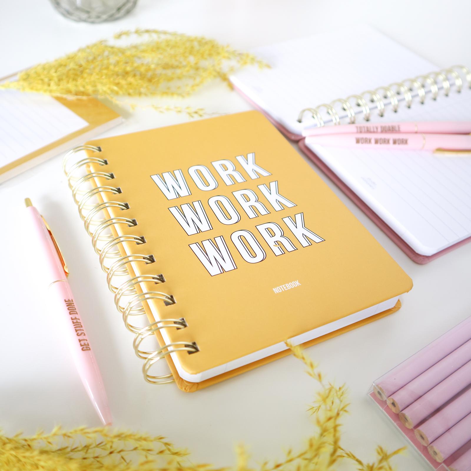 Work Work Work Notitieboek