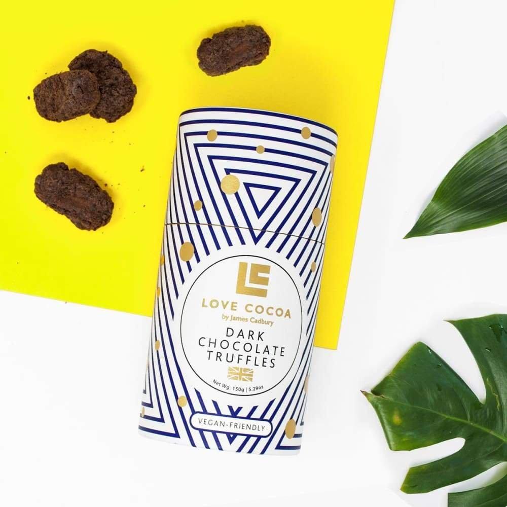 Dark Chocolate Truffles by Love Cocoa
