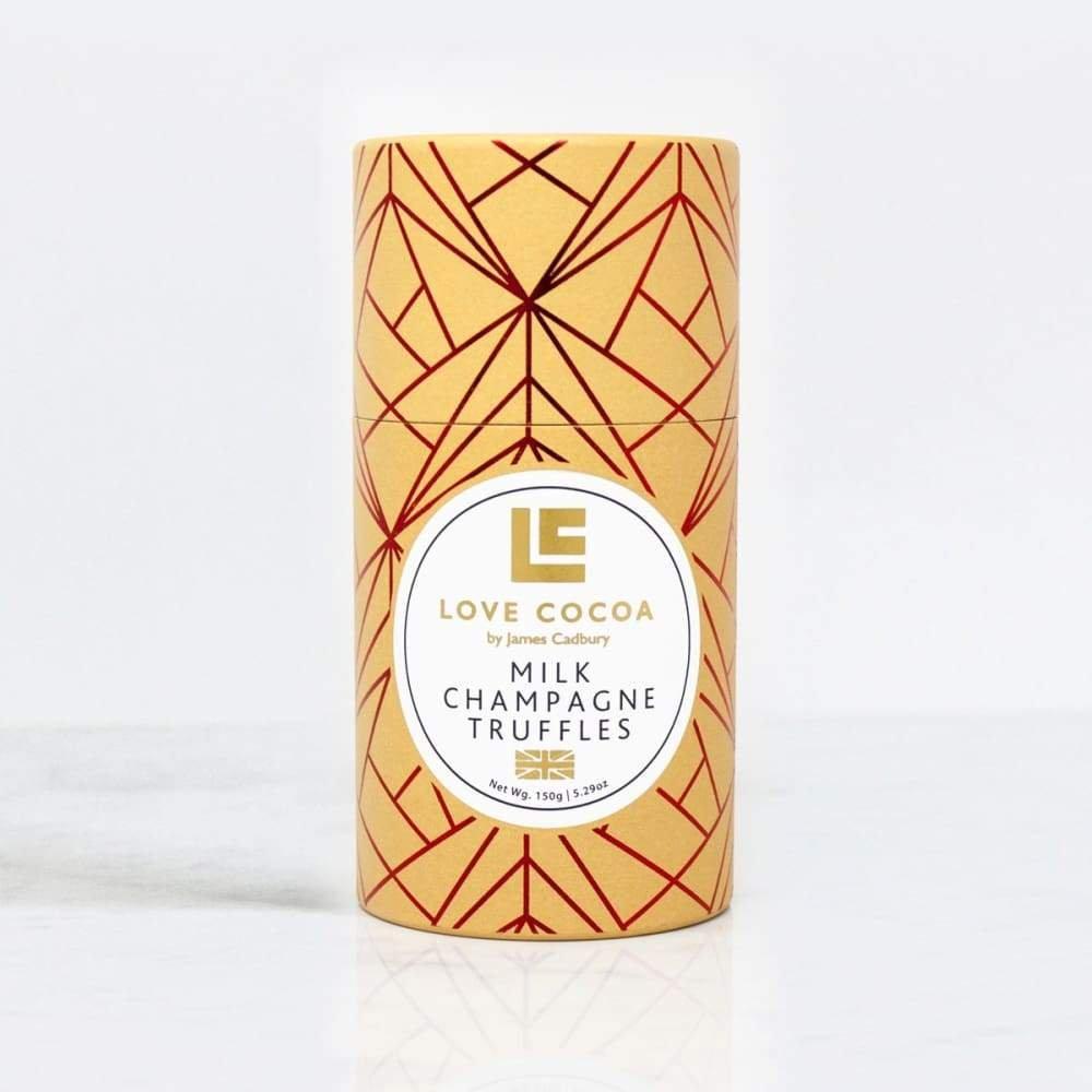 Milk Champagne Truffles by Love Cocoa