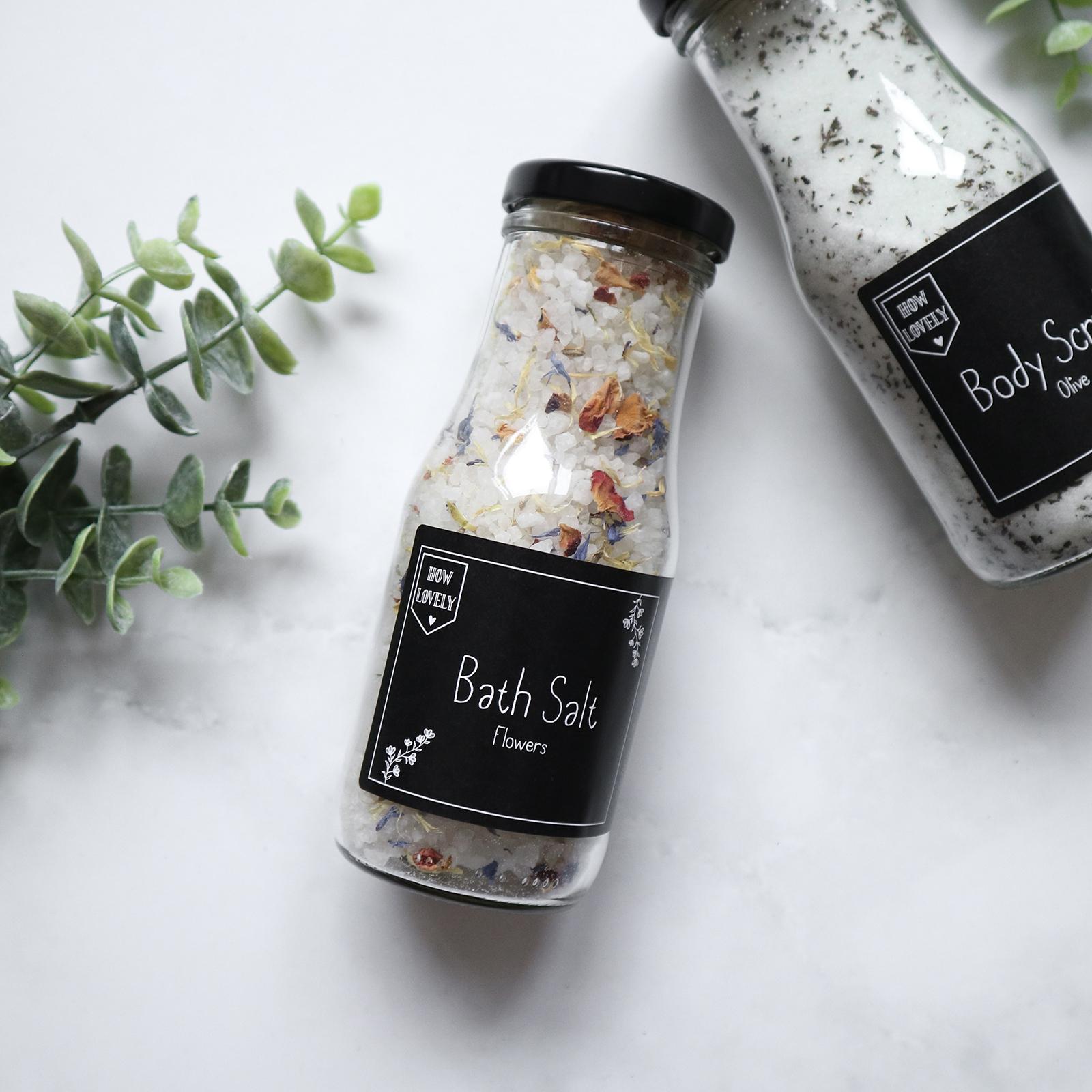 Bath Salt Flowers 250ml