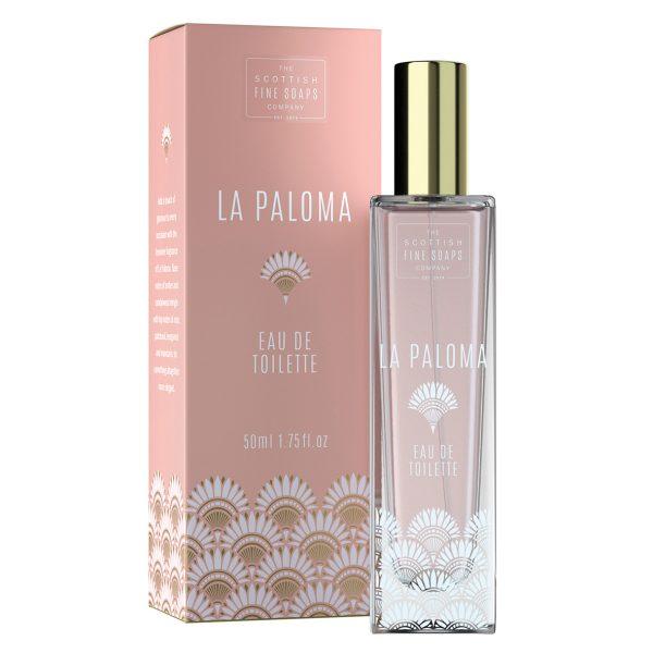 La Paloma parfum, scottish fine soaps, parfum, cadeauwinkel, luxe cadeaus