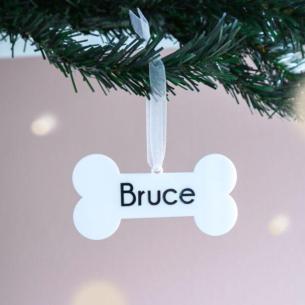 kerstcadeau met naam, huisdier cadeau, gepersonaliseerd cadeau